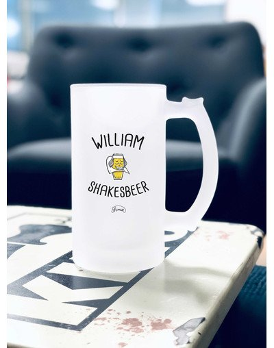 "Chope de bière ""William Shakesbeer"""