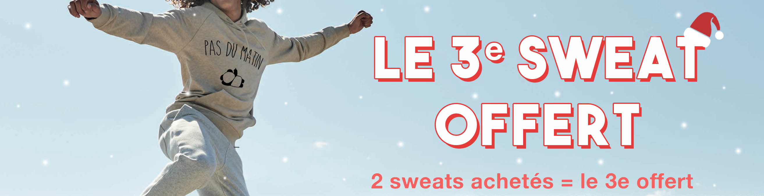 3e sweat offert